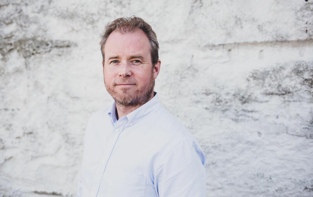 Lars Olve Hesjedal skal vikariere som nettansvarlig de neste to årene. Foto: Eskil Wie Furunes