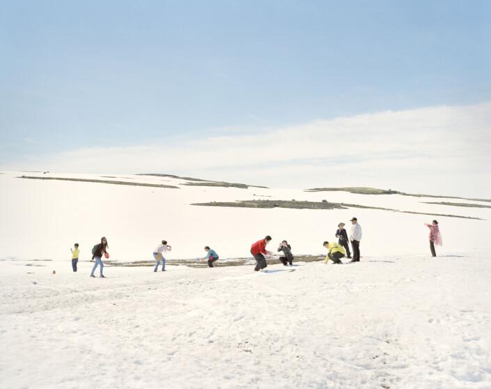 Utstillinga Norsk Dokumentarfotograf er en del av Henie Onstads større satsing på fotografi. Foto:Eirik Brekke