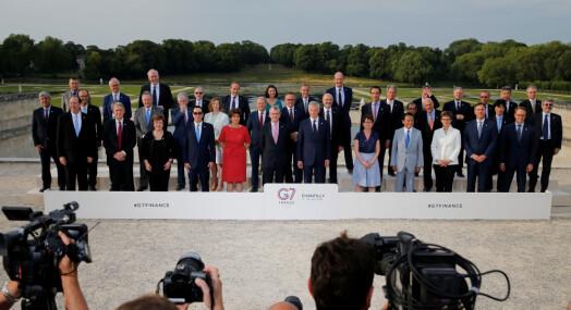 G7-land enige om plan for skattlegging av Apple, Google og Facebook