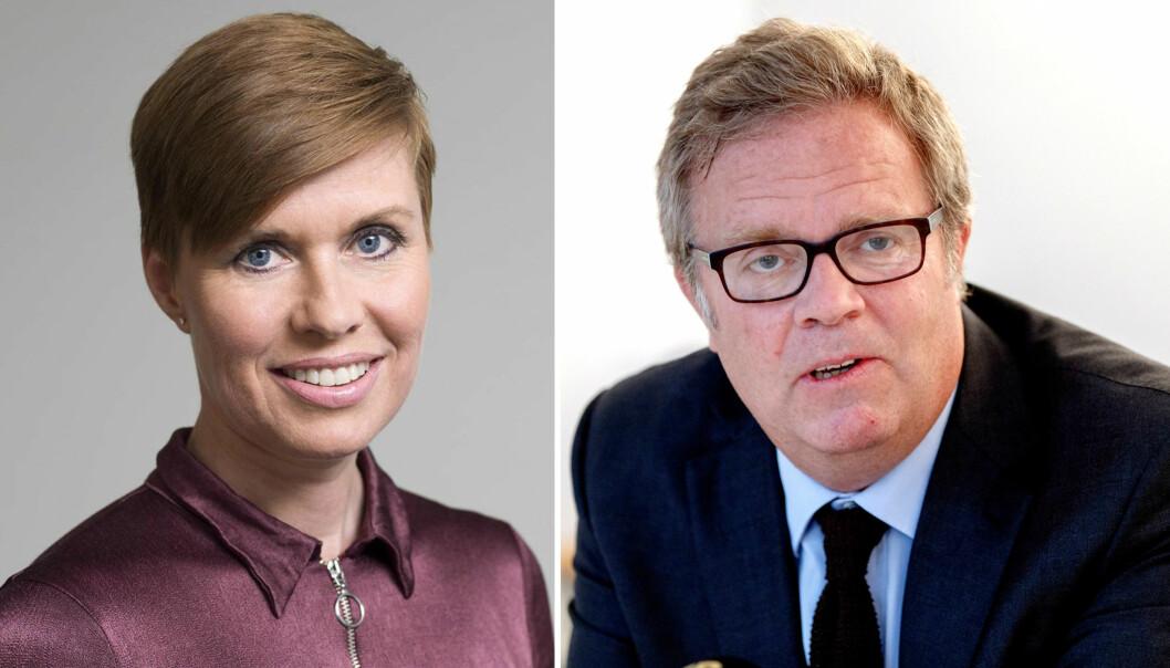 Medierettsadvokatene Ina Lindahl Nyrud og Jon Wessel-Aas er kritiske til potensiell forhåndssensur. Foto: NJ og NTB scanpix