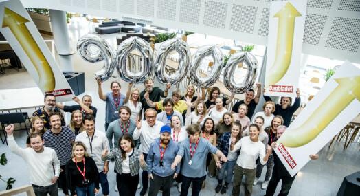 Dagbladet Pluss har nå 90.000 abonnenter