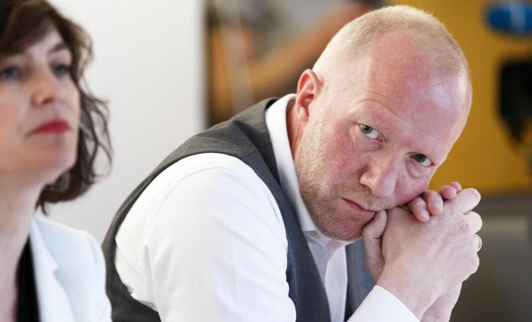 Generalsekretær Arne Jensen i Norsk Redaktørforening, her ved en annen anledning. Foto: Gorm Kallestad / NTB scanpix