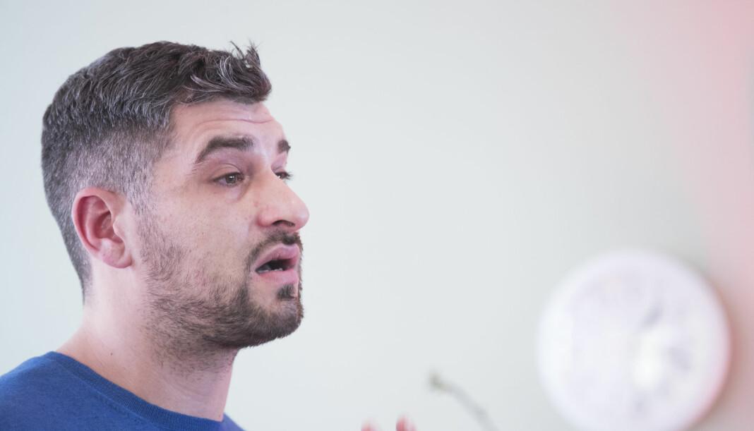 Programleder Leo Ajkic er blant mottakerne av Brobyggerprisen. Arkivfoto: Terje Pedersen / NTB scanpix