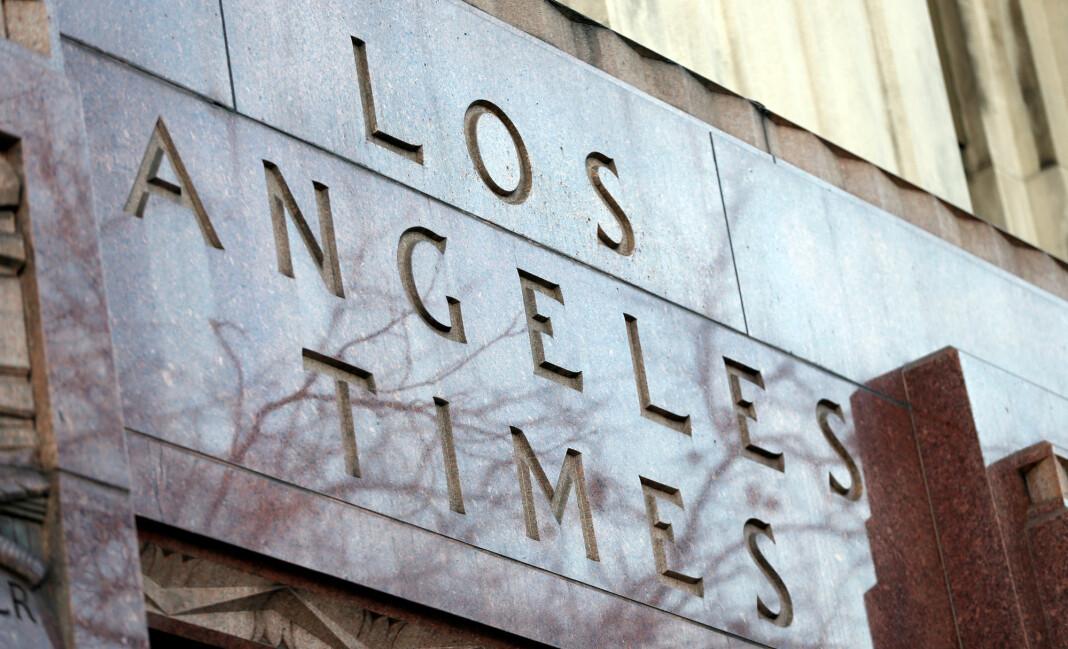 Los Angeles Times sliter med å beholde sine digitale abonnenter. Foto: Reuters / NTB scanpix
