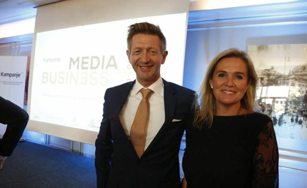 Knut Kristian Hauger og Nina Gade Tenvik i Kampanje Forlag vil i løpet av høsten lansere flere nye kurs- og konferanser. Foto: Kampanje