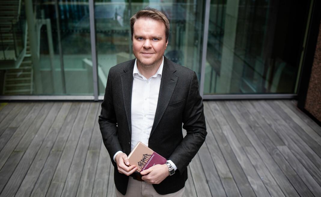 Den tidligere Fpu-lederen Ove André Vanebo er i dag senioradvokat i Kluge Advokatfirma AS. Nå gir han ut «Krisehåndboka». Foto: Eskil Wie Furunes