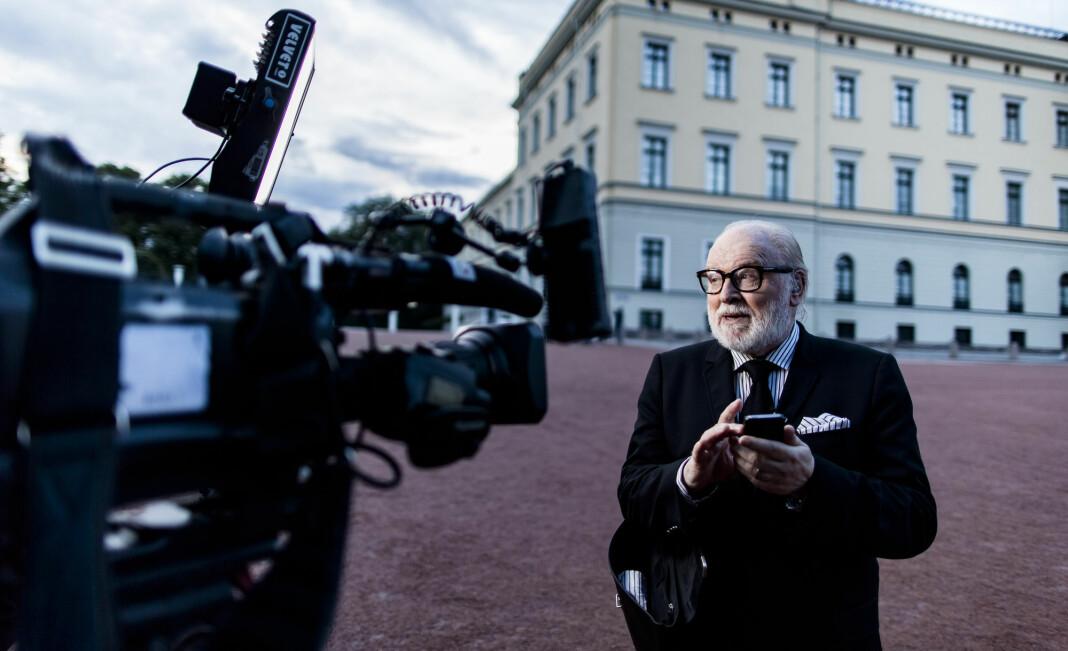 TV2s kongehusekspert Kjell Arne Totland døde onsdag, 74 år gammel. Foto: Krister Sørbø / NTB scanpix
