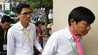 Spionasjesiktede journalister tilbake i retten i Kambodsja