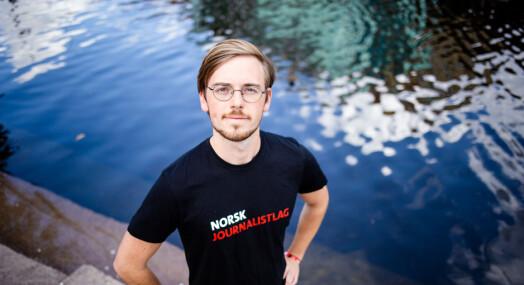 Henrik Hokaasen Røyne er ny leder i NJ Student