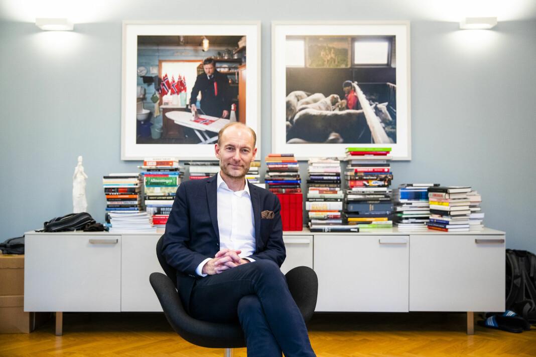 Fritt Ord-direktør Knut Olav Åmås. Foto: Håkon Mosvold Larsen / NTB scanpix