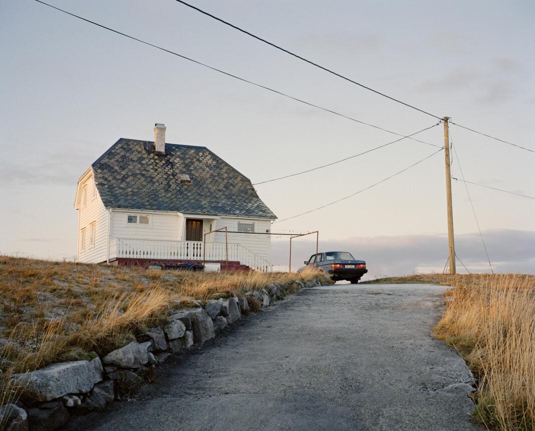 Helge Skodvin fotograferte Volvo 240 langs hele Norge. Foto: Helge Skodvin