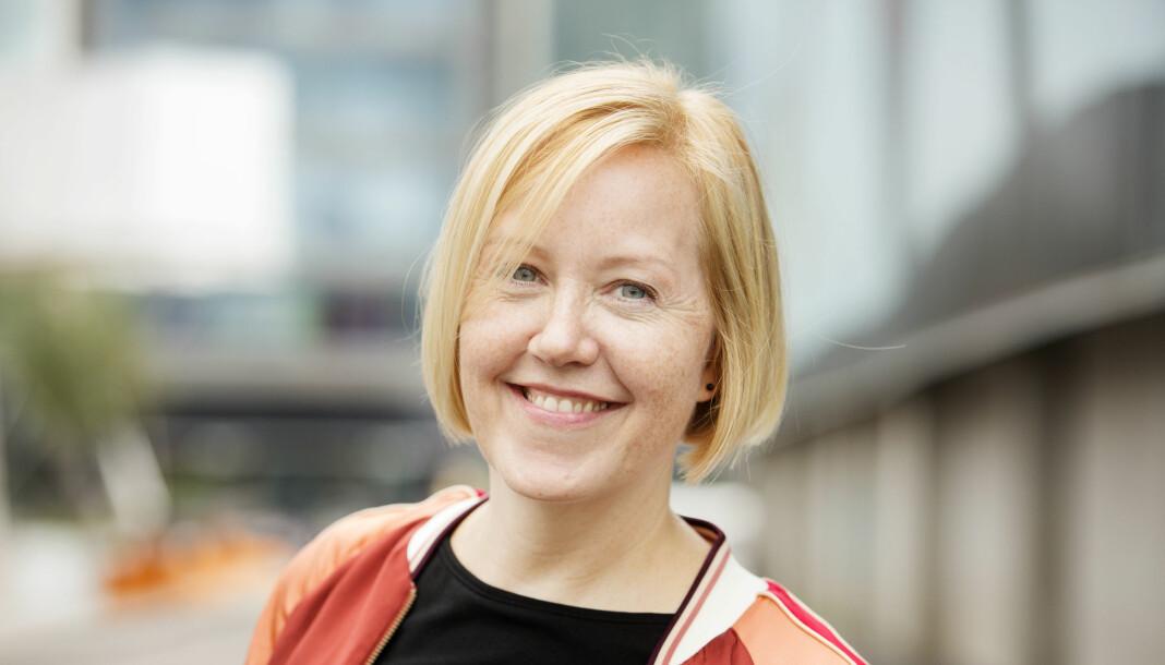 Hilde Nyman som nettopp sluttet i Kampanje, går til enerWE. Foto: Privat / Eivor Eriksen