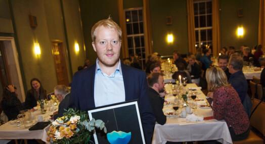 Hestenesprisen gitt til kulturjournalist Anders Firing Lunde