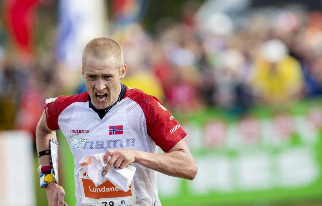 Orienterings-VM på hjemmebane ga gode seertall for NRK. Foto: Geir Olsen / NTB scanpix