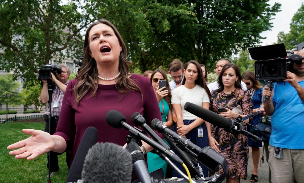 Trumps tidligere pressetalskvinne blir Fox News-kommentator