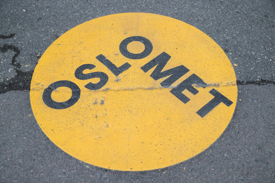 Høgskolen i Oslo og Høgskolen i Akershus fikk navnet Oslomet i fjor. Foto: Berit Roald / NTB scanpix