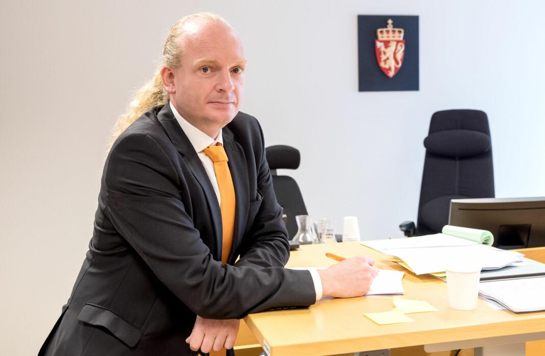 Advokat Arvid Berentsen var den som førte saken for fotograf Fredrik Naumann i Stavanger tingrett. Foto: Fredrik Naumann/Felix Features