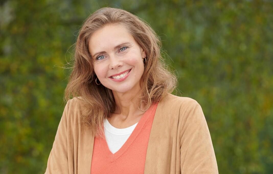 300.000 Norsk Ukeblad-lesere har fått seg ny redaktør. Trine Rasmussen overtar som redaksjonell leder i ukebladet. Foto: Esten Borgos / Egmont Publishing