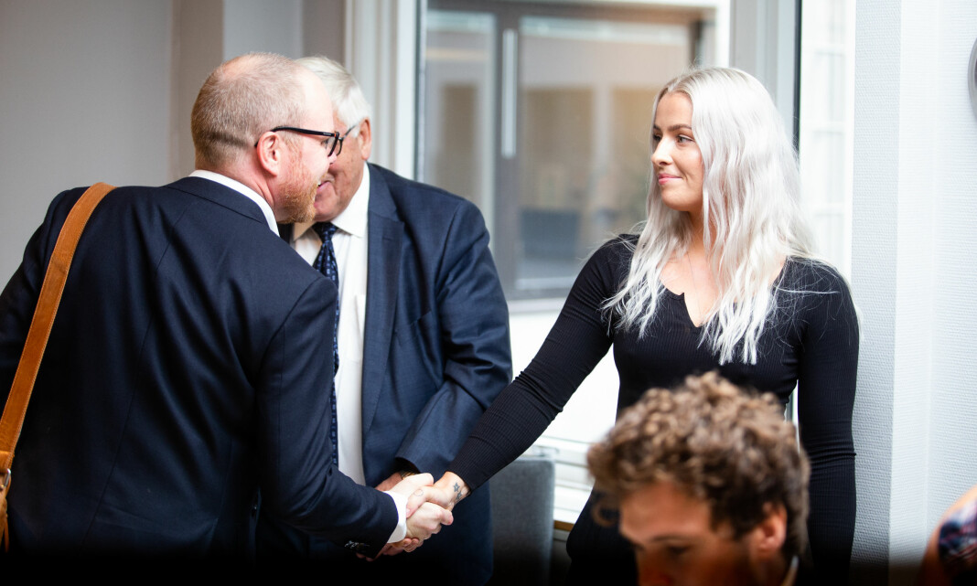 VG og Sofie er blitt enige om forlik: – Ønsker henne alt godt videre