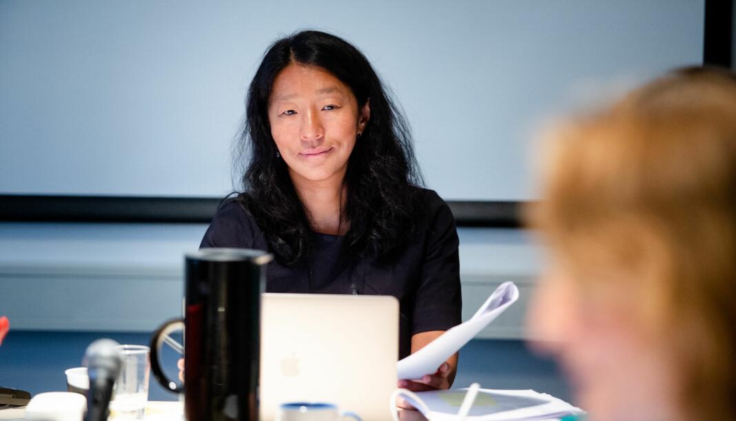 PFU-leder Anne Weider Aasen.