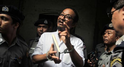 Filmskaper fengslet i Myanmar