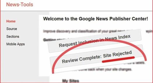 Google styrer nyhetsstrømmen, men vet ingen ting om avisdrift