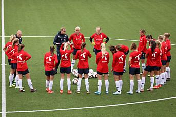 NRK sender fotball-EM for kvinner i 2021