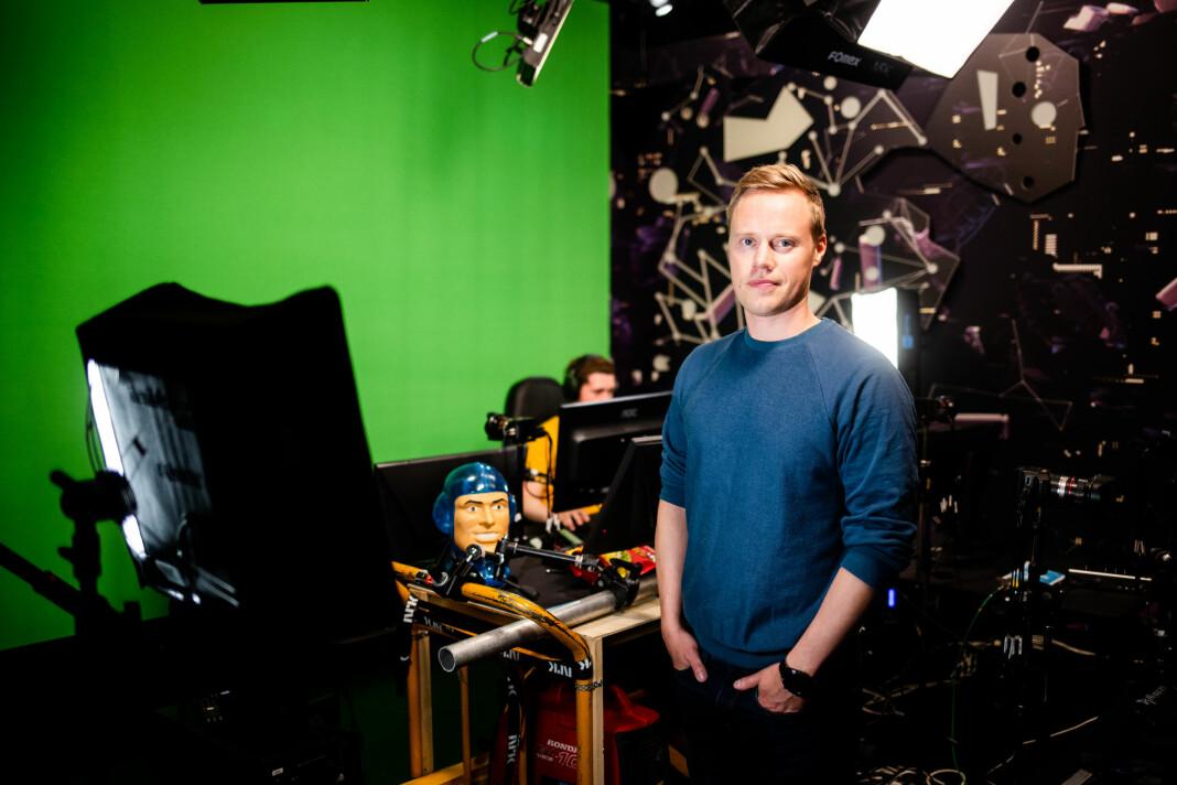 Espen Skagen har vært prosjektleder for NRK P3 Gaming i Trondheim.