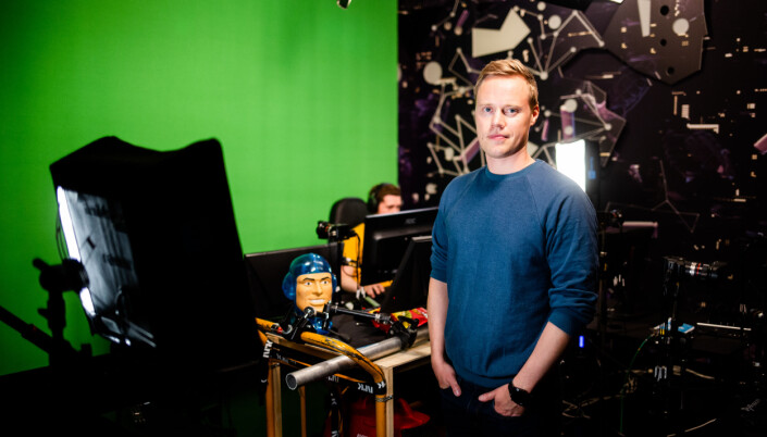 Espen Skagen er prosjektleder for NRK P3 Gaming i Trondheim. Foto: Eskil Wie Furunes