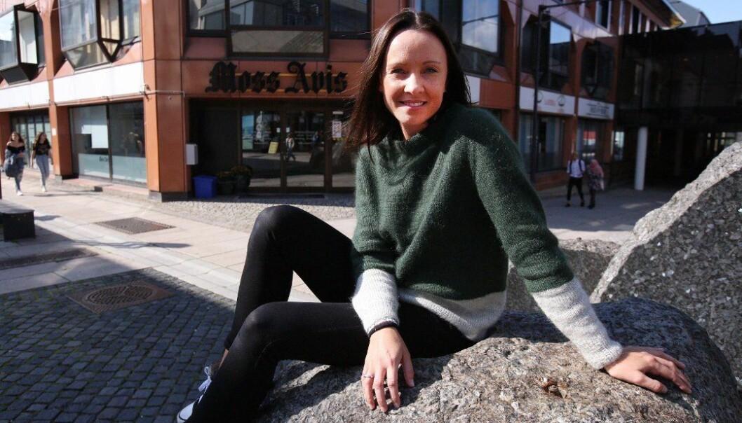 Trine Urstad tar over roret i Vestby Avis. Foto: Amedia