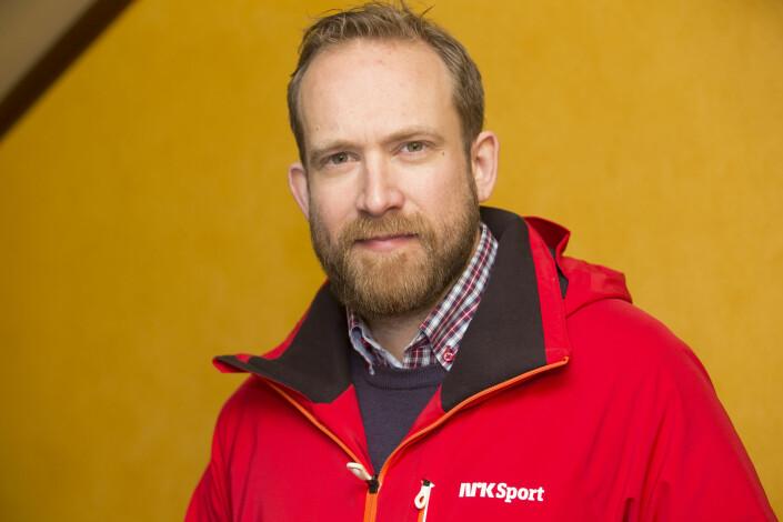 – Halvard var veldig sosial og omgjengelig. Han likte å gruble og gå i dybden på ting, sier NRKs skiskytterkommentator Andreas Stabrun Smith. Foto: Terje Bendiksby / NTB scanpix