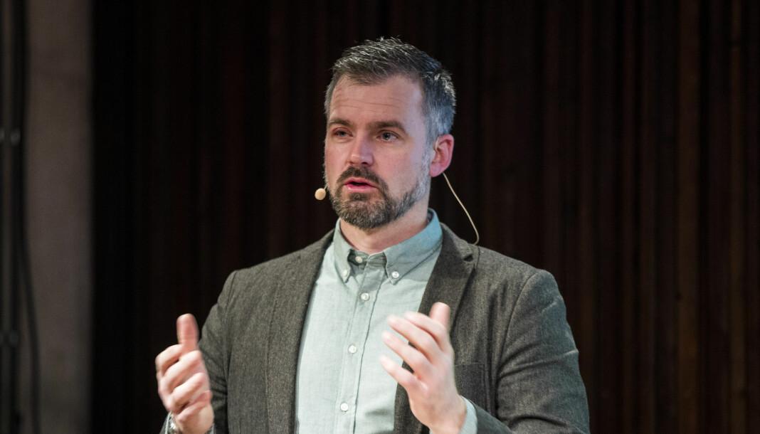 Henrik Nordahl, avdelingsdirektør, Lotteritilsynet, har sendt brev til norske aviser om dekning av ulovlige spillselskaper. Foto: Terje Pedersen / NTB scanpix