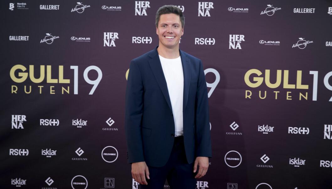 Andreas Wahl, programleder for Folkeopplysningen på NRK, på Gullruten tidligere i år. Arkivfoto: Terje Pedersen / NTB scanpix