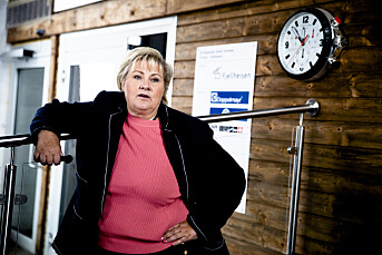 Solberg kritiserer NRK etter falske nyheter-prosjekt