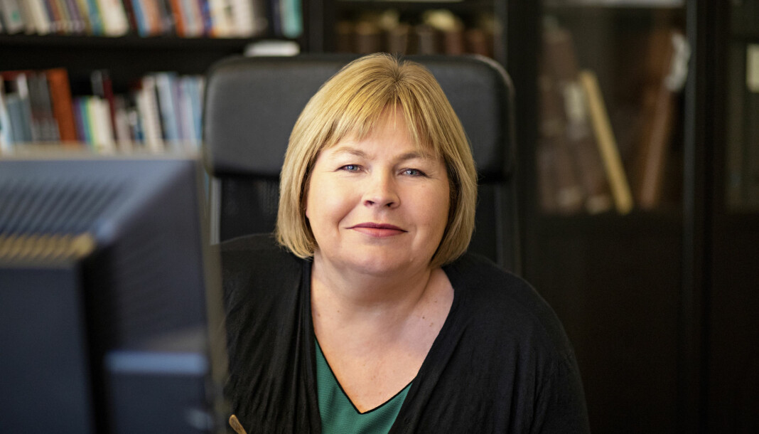 Generalsekretær Elin Floberghagen i Norsk Presseforbund skal rekruttere en ny medarbeider.