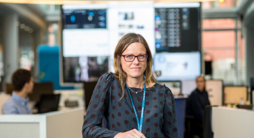 Valgpraten: Hilde Øvrebekk mener altfor få journalister spør politikerne hvor pengene skal komme fra og hva som må vike