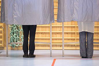 Bør journalister stemme ved valg?