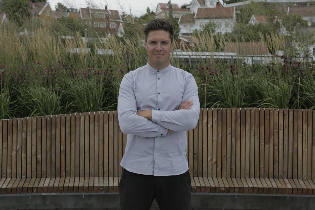 Andreas Wahl er programleder i NRKs Folkeopplysningen.