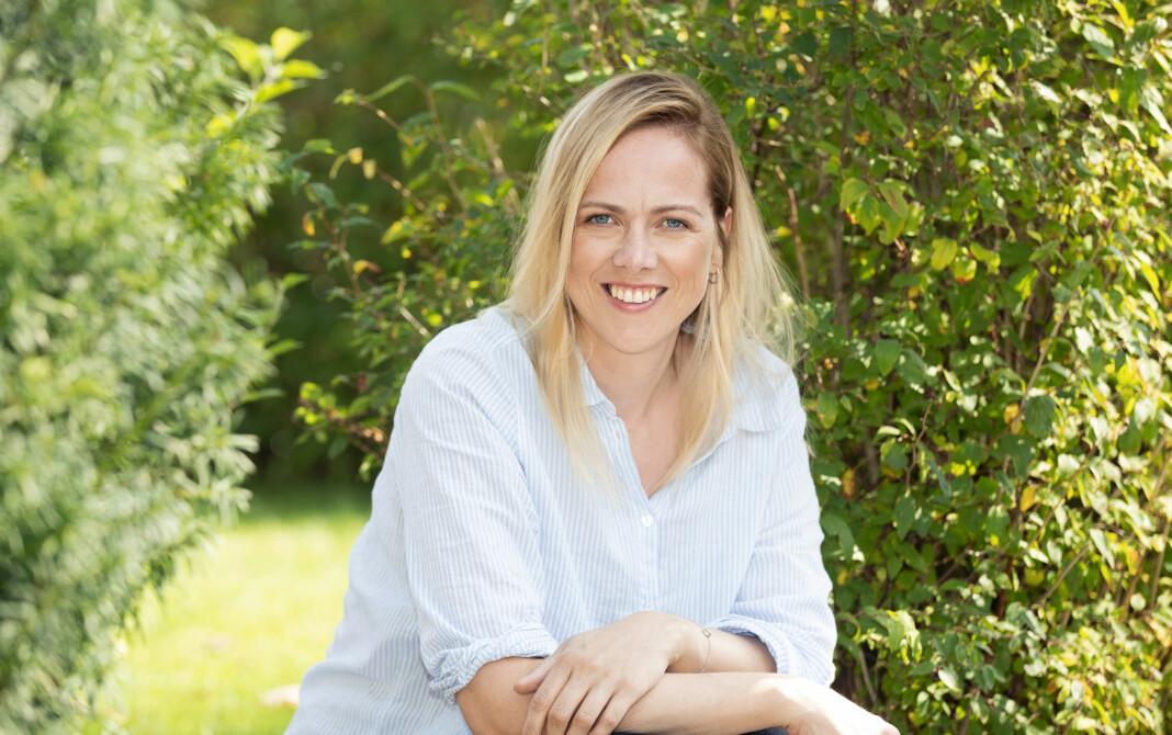 Nina Lødemel er fornøyd med å ha fått nye og større oppgaver i Foreldre & Barn. Foto: Gry Traaen / Egmont Publishing