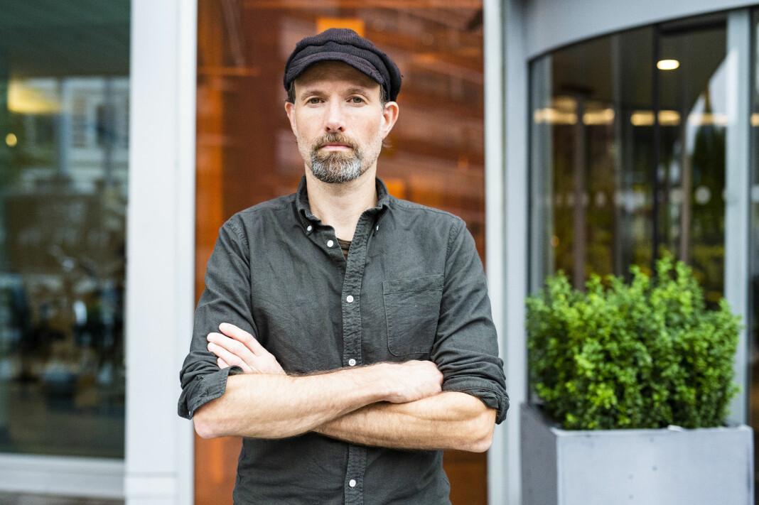 Klubbleder Jo T. Gaare i Morgenbladet og er ikke glad for at avisa ser seg nødt til å tilby sluttpakker til de ansatte. Foto: Kristine Lindebø