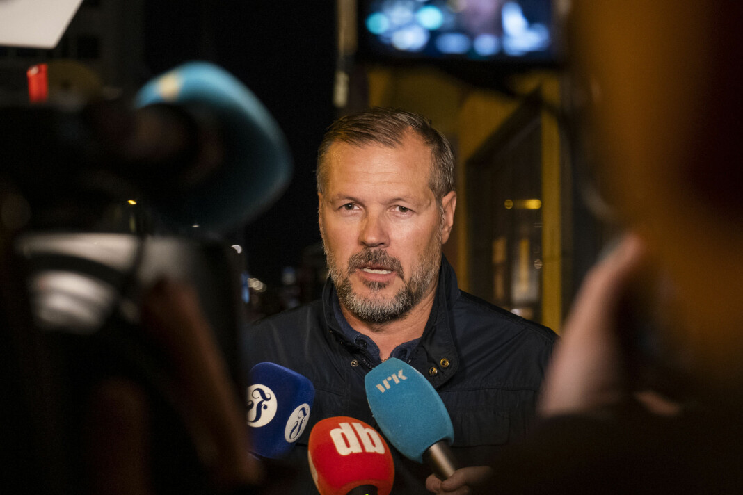 Kjetil Rekdal har erfaring i å være på begge sider av kamera og mikrofoner. Men han er ikke journalist. Foto: Tor Erik Schrøder / NTB scanpix
