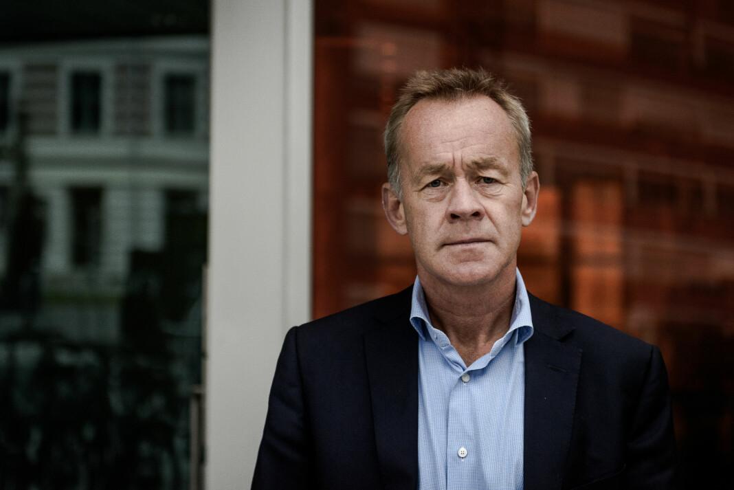 Sjefredaktør Amund Djuve i Dagens Næringsliv sier at han tar søksmålet med ro.
