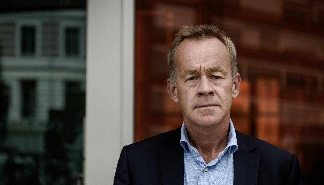 Amund Djuve, ansvarlig redaktør i Dagens Næringsliv og styreleder i Morgenbladet. Foto: John Trygve Tollefsen