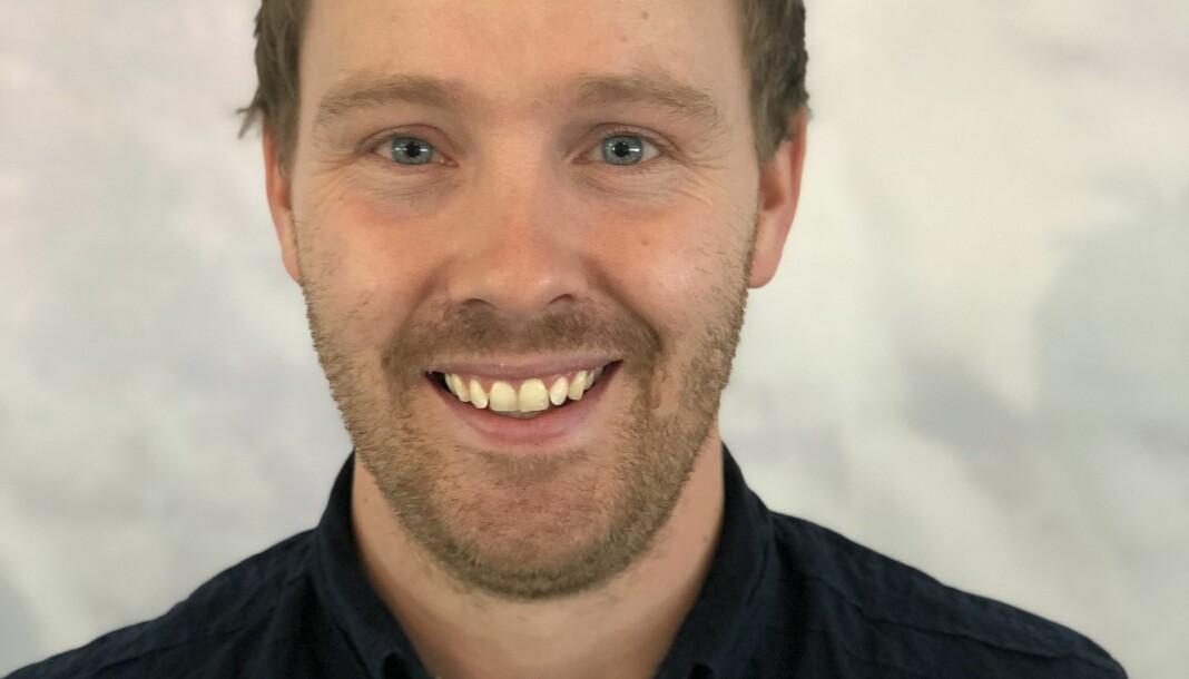 Øystein Bjerkestrand går inn i en nyopprettet stilling som digitalredaktør i Agderposten. Foto: Tore Ellingsen/Agderposten