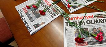 Fem journalister løslatt på ordre fra tyrkisk ankedomstol