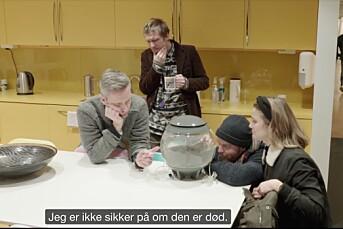 NRK har fått 10.000 kroner i bot etter Satiriks-stunt