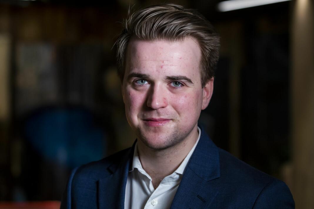 Mathias Fischer er ferdig i mediebransjen når han forlater TV 2 og går over til TRY Råd. Foto: Håkon Mosvold Larsen / NTB scanpix