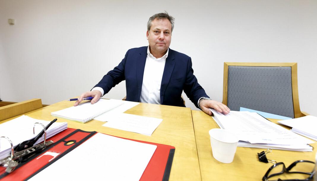 Arve Juritzen overværte i dag sitt første møte i Pressens Faglige Utvalg (PFU). Bildet er tatt i en annen sammenheng.
