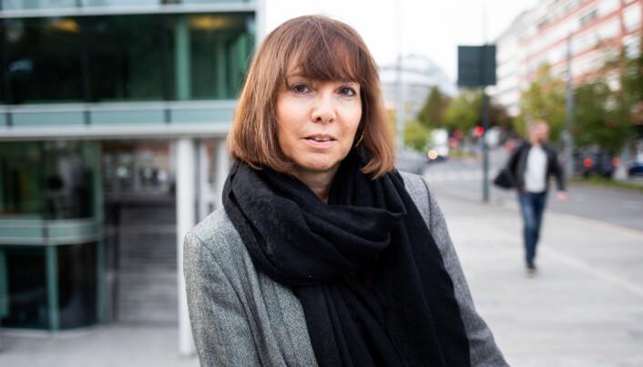 Klubbleder Ingrid Bjørklund i Dagens Næringsliv. Foto: Eskil Wie Furunes