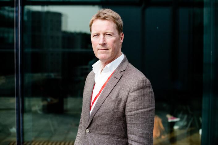 Jim Receveur er i dag administrerende direktør både i Bauer Media Norge og Bauer Media Danmark, og er på Radiodagene i Oslo denne uken. Foto: Eskil Wie Furunes